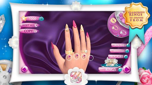 Fashion Nails 3D Girls Game screenshot 6