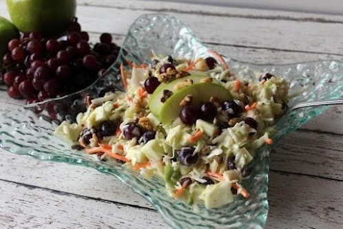 Click Here for Recipe: Coleslaw with Fruit