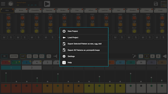Lil Drum Machine Demo- screenshot thumbnail
