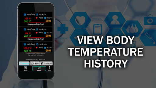 Body Temperature Checker Diary : Info History Log screenshot 18