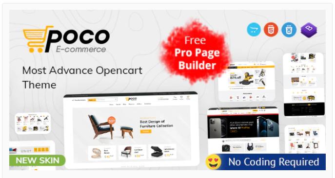 Poco - Opencart bookstore theme