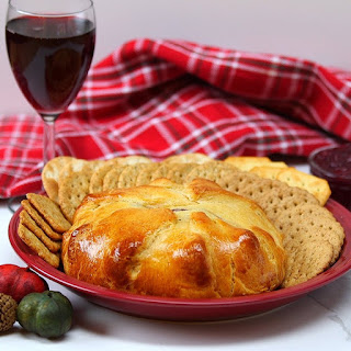 Cranberry Crescent Baked Brie Is a Delicious Holiday Classic Recipe