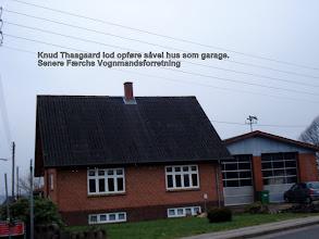 Photo: Ingstrupvej 12, Knud Thågaards hus og garage