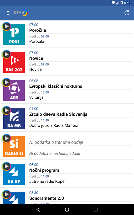 RTV Slovenija – RTV 4D- screenshot