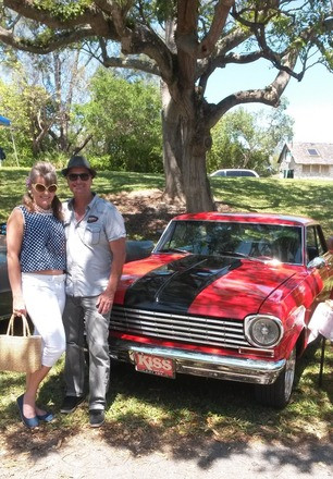 1963 NOVA SS RED HOT by the hour Hire FL 33161