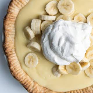 Old-Fashioned Banana Cream Pie.