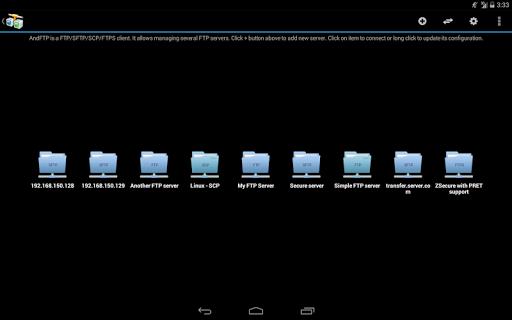 AndFTP screenshot 8