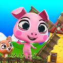 Adventure Pig Game: Battle Run icon