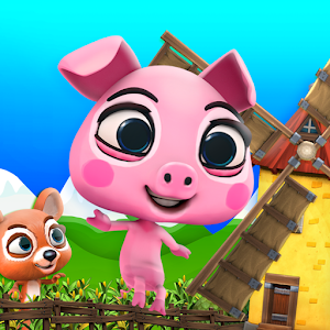 Adventure Pig Game: Battle Run for PC and MAC