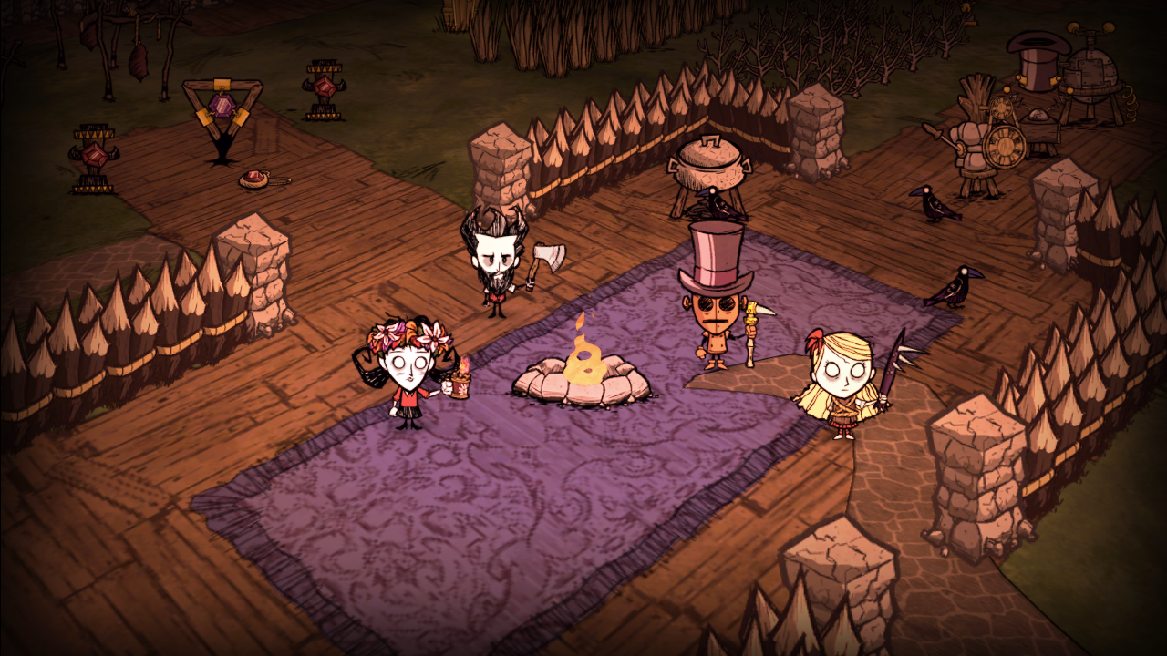 dont starve together pc game multiplayer