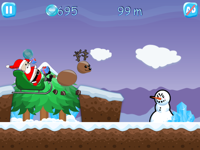 android Xmas Ride - Santa Escape Screenshot 9