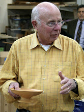 Photo: Bill is not sure of the wood that makes this nice pedestal bowl.