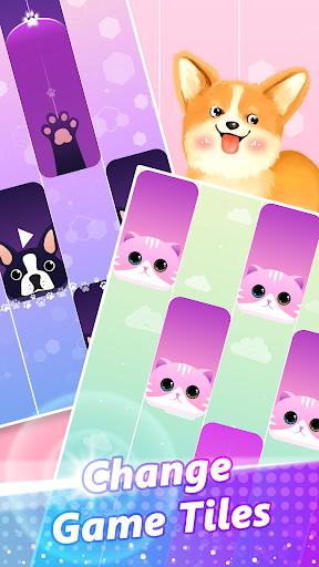Magic Piano Pink Tiles - Music Game android2mod screenshots 6