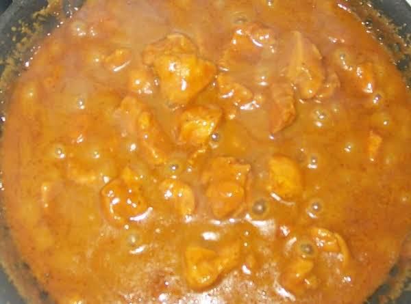 Sweet Orange Hot Curry Chicken