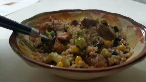 Chicken And Rice Mashup