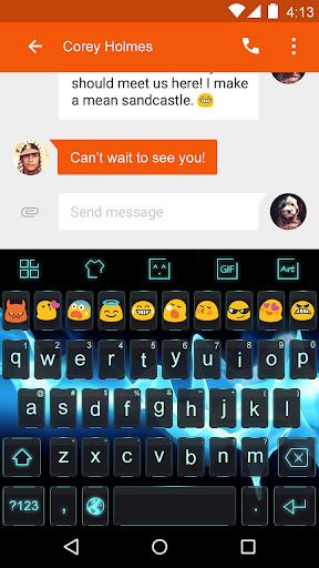 Crystal Compact-Emoji Keyboard