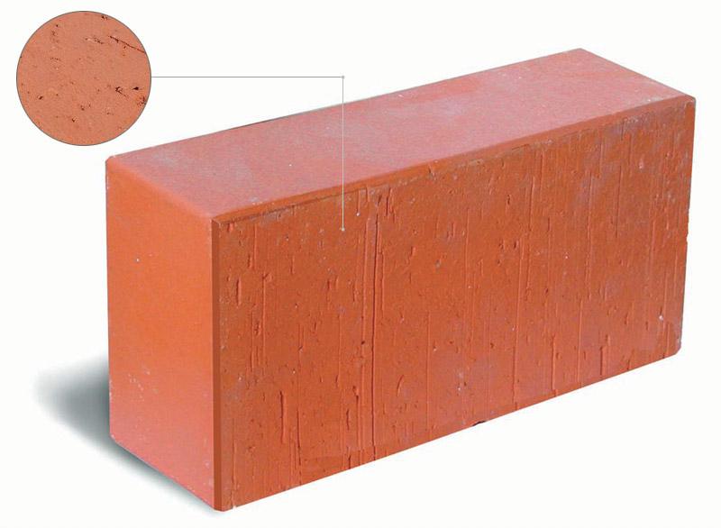 Structure of ceramic bricks