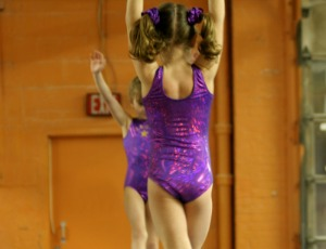 participate with gymnasts