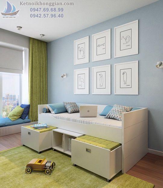 thiết kế phòng ngủ chất lượng cao