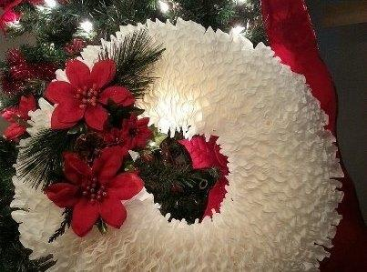 Diy Coffee Filter Wreath Recipe