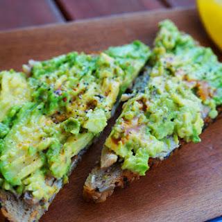 Sardine and Avocado Toast.