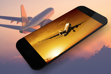 Airplane Live Wallpaper - náhled