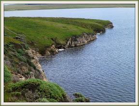 Photo: Cliffs on Abbott's lagoon