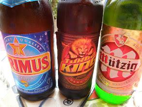 Photo: Each mzungu had his/her beer... ;)