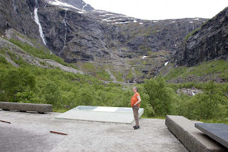 Photo: Torgunn ved Trollstigen