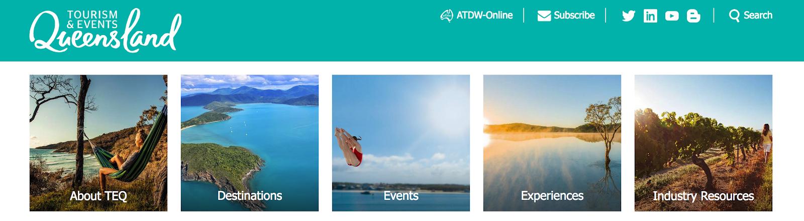 Travel Brands: Tourism & Events Queensland