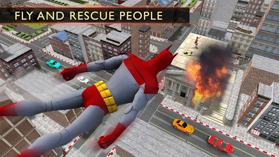 Grand Bat Hero Flying City Rescue - náhled
