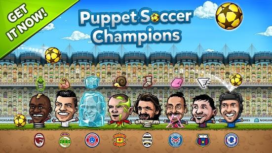 Puppet Soccer Champions ile ilgili görsel sonucu