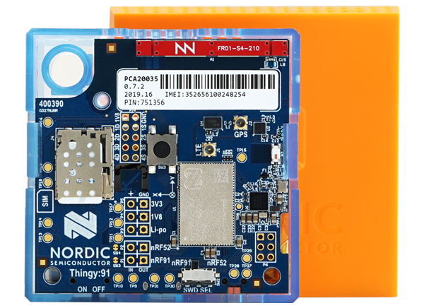 Thingy:91 Multisensor Prototyping Kit - Nordic | Mouser