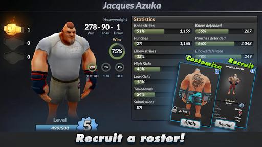 MMA Manager apkmr screenshots 3
