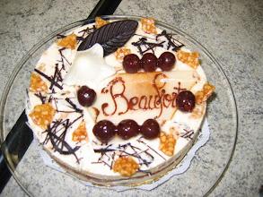 Photo: Cake - Dinner in Beaufort-en-Valle, France
