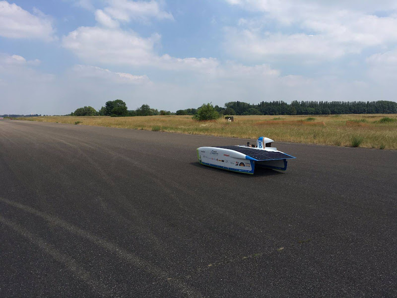 Testing our solar car