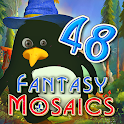Fantasy Mosaics 48: Gnome's Puzzles icon