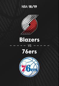 NBA. Temporada 18/19. Portland Trail Blazers - Philadelphia 76ers.