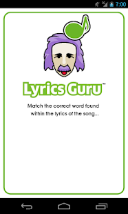 Lyrics Guru®- screenshot thumbnail
