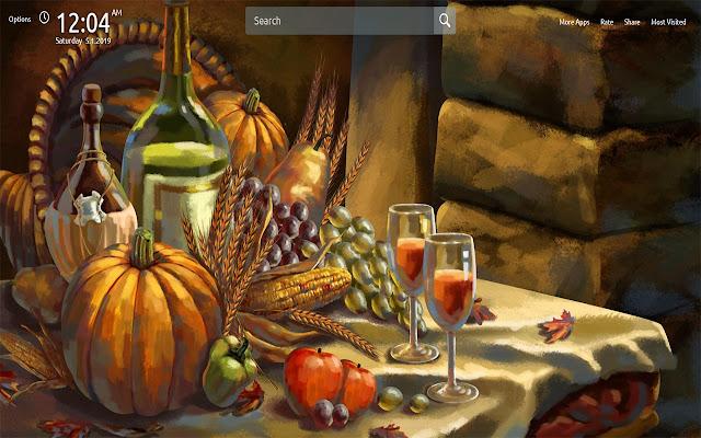 Thanksgiving Wallpapers Theme New Tab