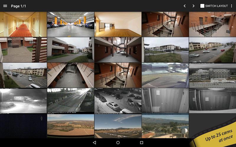 tinyCam PRO - Swiss knife to monitor IP cam Screenshot 8