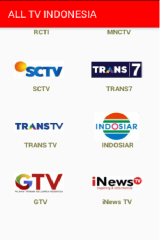 ALL CHANNEL TV INDONESIA 7.0.0 screenshots 3
