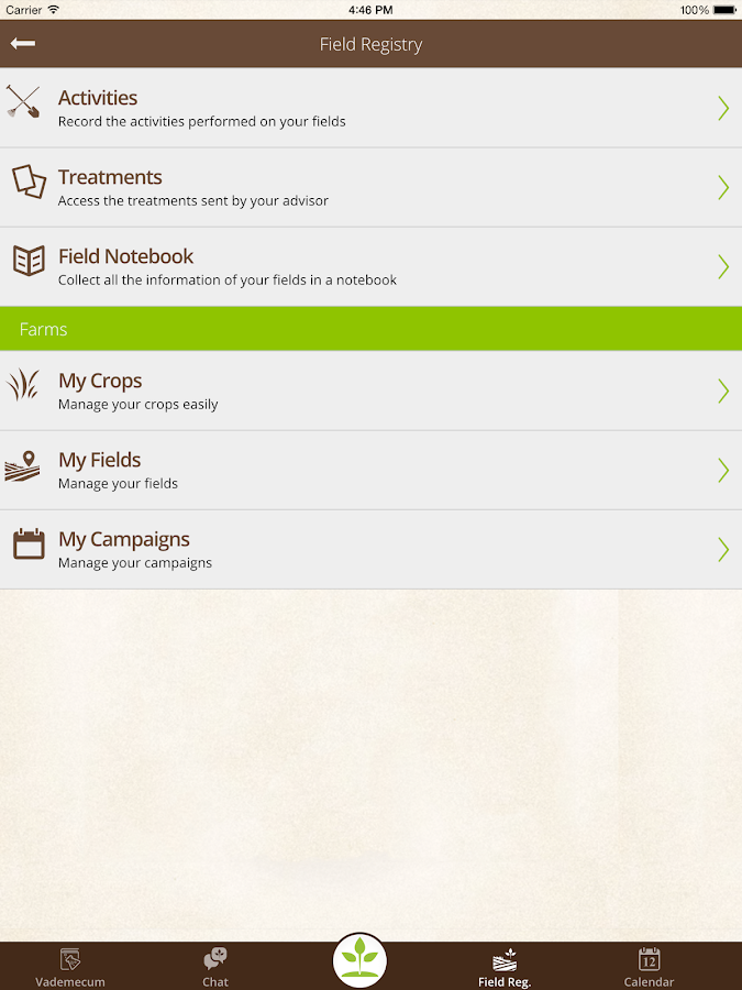 CultivApp- screenshot