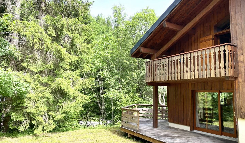 Chalet avec terrasse Morillon