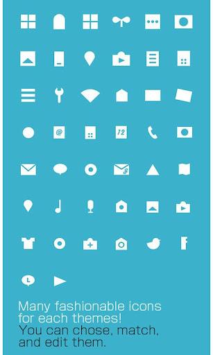 icon&wallpaper 7 Simple Colors 1.0.0 Windows u7528 4