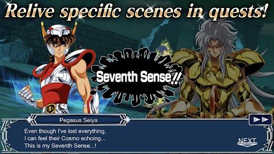 SAINT SEIYA COSMO FANTASY Mod 2.1 Apk [God Mod,1 Hit Kill, Unlimited Skills] 5