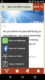 The Secret Affirmation Daily- screenshot thumbnail