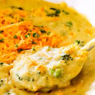 Skinny Broccoli Cheese Soup.