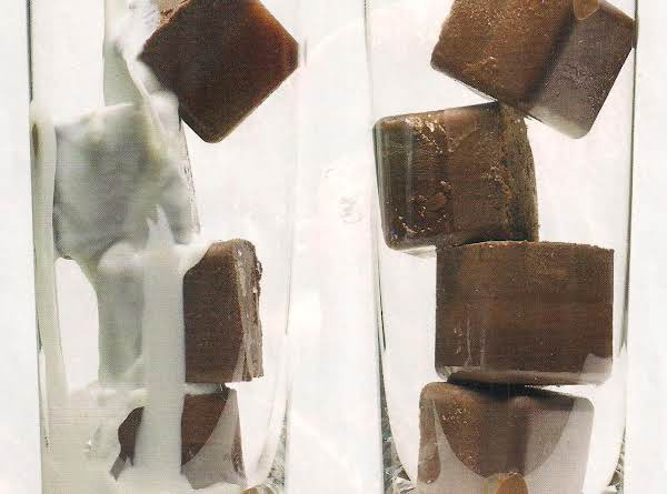 Cold As Ice Chocolate Ice Cubes Recipe