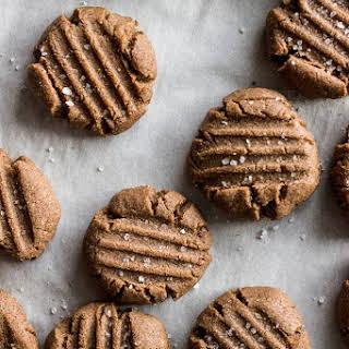 Teff Almond Butter Cookies (Gluten-free, Vegan).